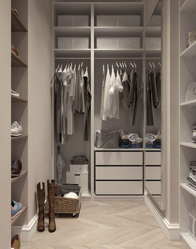 dressing organisé , accessoires de chambre